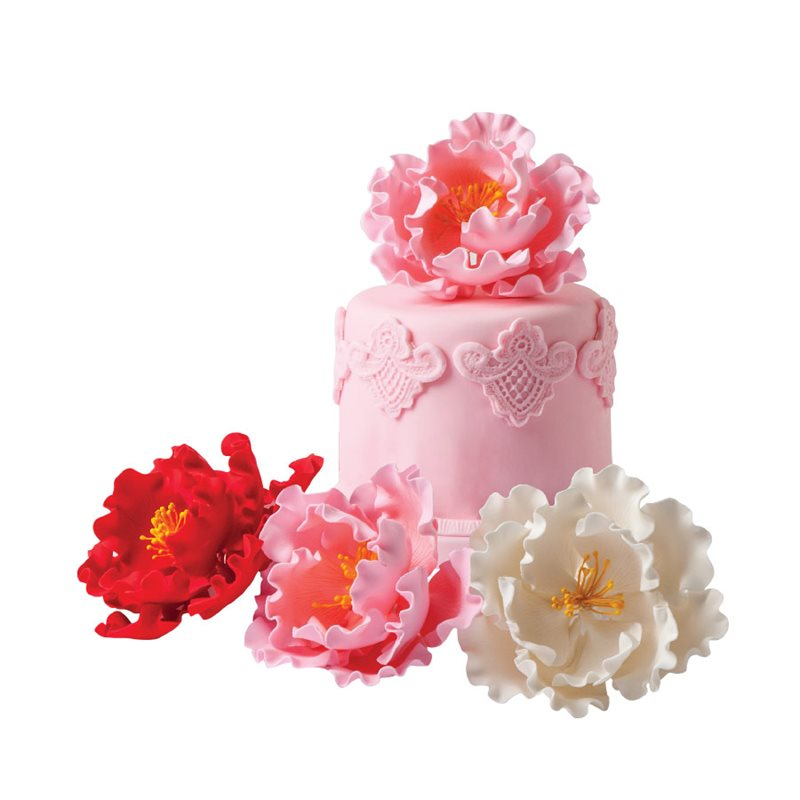 How To Make Edible Flowers For Cake Decorating