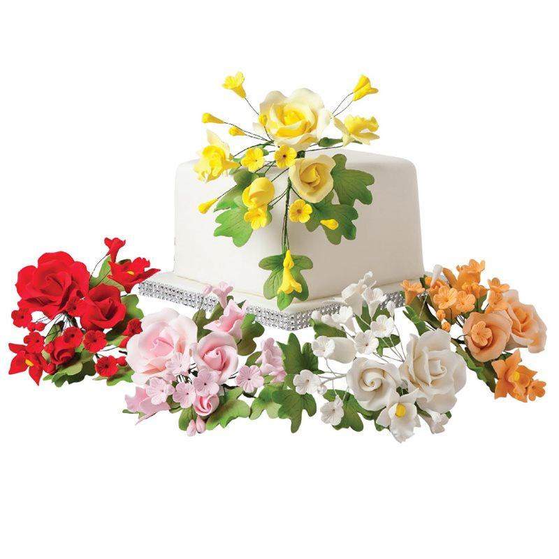 Wedding Cake Sugar Flowers: Gum Paste Flowers & Decorations - NY Cake