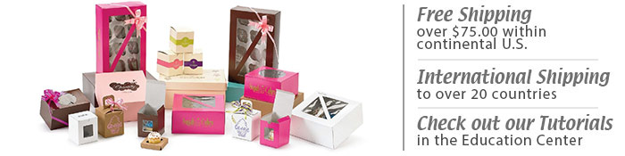 Cupcake Boxes And Bags Decorative Cupcake Packaging NY Cake Cool Decorative Cupcake Boxes