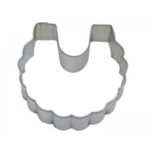 Baby Bib Cookie Cutter 3 Inch