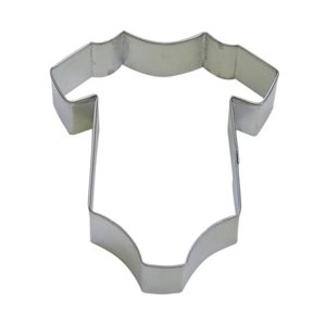 Baby Onesie Cookie Cutter 4 Inch