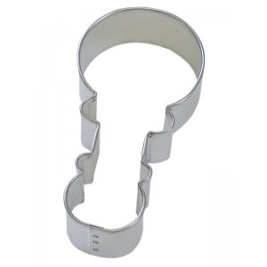 Baby Rattle Cookie Cutter 4 Inch