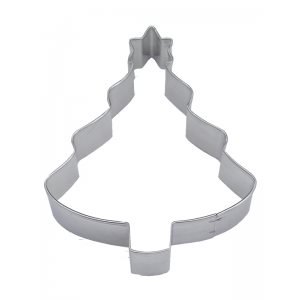 Christmas Tree with Star Cookie Cutter 4 Inch