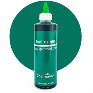 Teal Green Liqua-Gel Color -10.5 ounce By Chefmaster