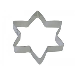 Star of David Cookie Cutter 5 Inch