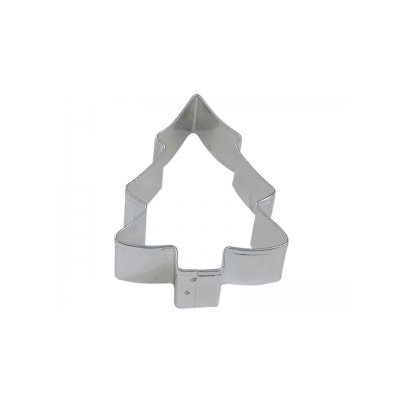 snow covered christmas tree cookie cutter 3 1 2 inch