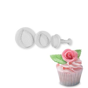 Rose Leaf Plunger Set Small