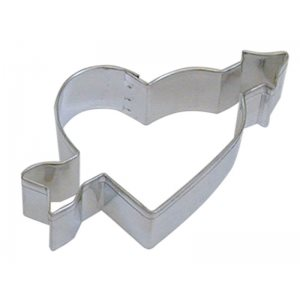 Heart & Arrow Cookie Cutter 4 Inch