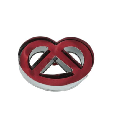 Pretzel Linzer Cookie Cutter