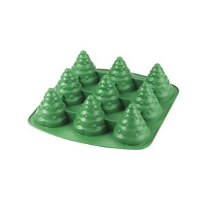 Mini Tree 3D Silicone Mold 9 Cavities