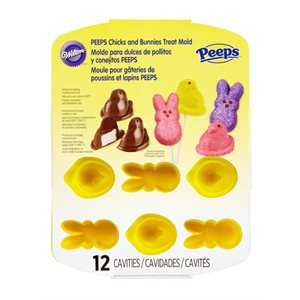 Peeps Chicks and Bunnies Silicone Pan By Wilton