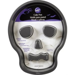 Skull Tube Cake Pan By Wilton