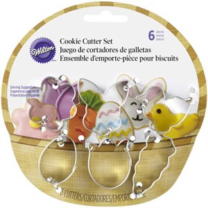 Easter Mini Metal Basket 6 pcs By Wilton