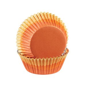 Ombre Orange Color Cup Baking Cups 36 pcs