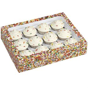 Jimmie Sprinkles Mini Cupcake Treat Boxes-3 CT By Wilton