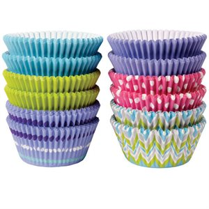 Pastel Cupcake Baking Liner-Pack of 500 by Wilton