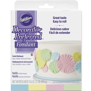 Pastel Fondant Multipack By Wilton