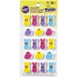 Peeps Icing Decorations By Wilton