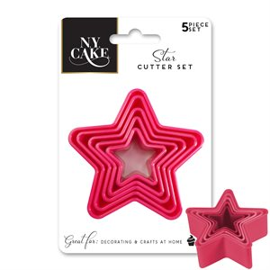 Star Shape Fondant, Pastry and Cookie Cutters