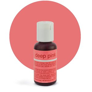 Deep Pink Liqua-Gel Color - .70 ounce By Chefmaster