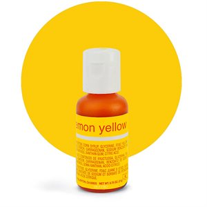 Lemon Yellow Liqua-Gel Color - .70 ounce By Chefmaster