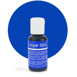 Royal Blue Liqua-Gel Color - .70 ounce By Chefmaster