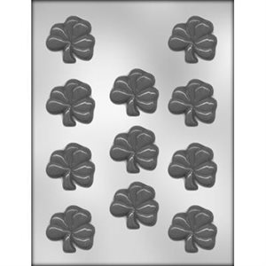 Shamrock Chocolate Candy Mold 2 Inch