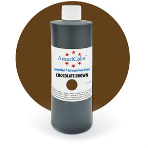 Chocolate Brown Airbrush Color 9 Ounces By Americolor
