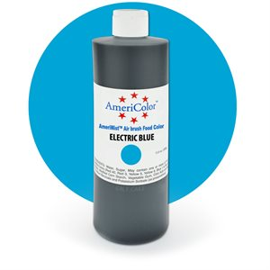 Electric Blue Airbrush Color- 9 Ounces By Americolor