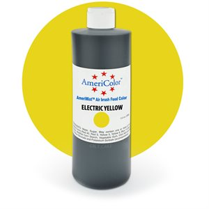 Electric Yellow Airbrush Color 9 Ounces By Americolor