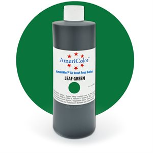 Leaf Green Airbrush Color 9 Ounces By Americolor