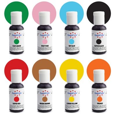 Color Kit 8 ct By Americolor