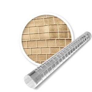 Brick Impression Rolling Pin-Large
