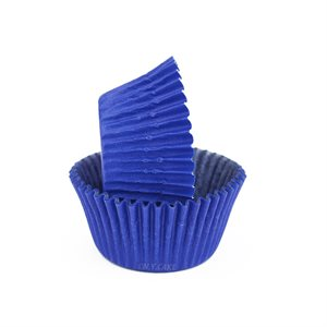 Blue Glassine Standard Cupcake Baking Cup Liner