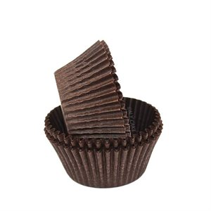 Brown Glassine Standard Cupcake Baking Cup Liner
