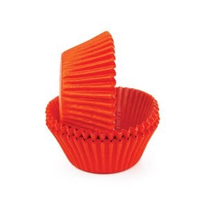 Orange Glassine Standard Cupcake Baking Cup Liner