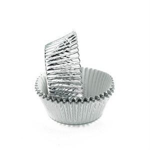 Silver Foil Standard Cupcake Baking Cup Liner