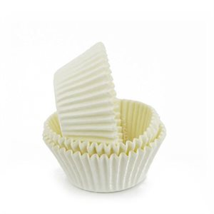 White Greaseproof Standard Cupcake Baking Cup Liner