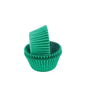 Green Mini Cupcake Baking Cup Liner