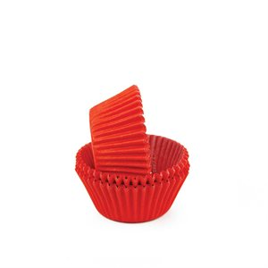 Red Mini Cupcake Baking Cup Liner