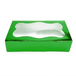 Green Cookie Box 1 Pound