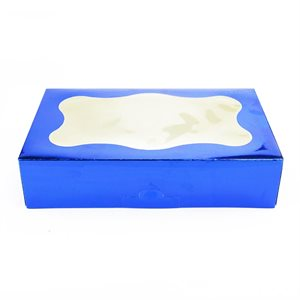 Blue Cookie Box 1 Pound