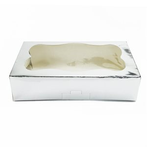 Silver Cookie Box 1 Pound