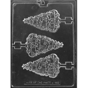 Very Merry Christmas Lollipop Chocolate Candy Mold