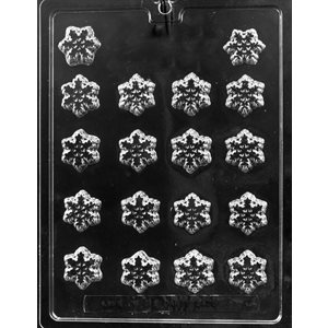 Snowflake Decorations Chocolate Candy Mold