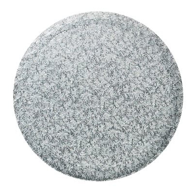 14  Inch Round Silver Cake Board 1 / 2 Inch Thick