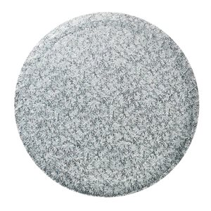 6  Inch Round Silver Cake Board 1 / 2 Inch Thick