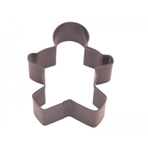 Gingerbread Boy Cookie Cutter Poly Resin 3 1 / 2 Inch