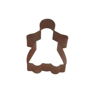 Gingerbread Girl Cookie Cutter Poly Resin 3 3 / 4 Inch