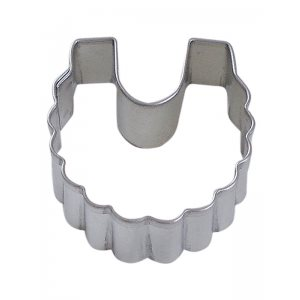 Mini Baby Bib Cookie Cutter